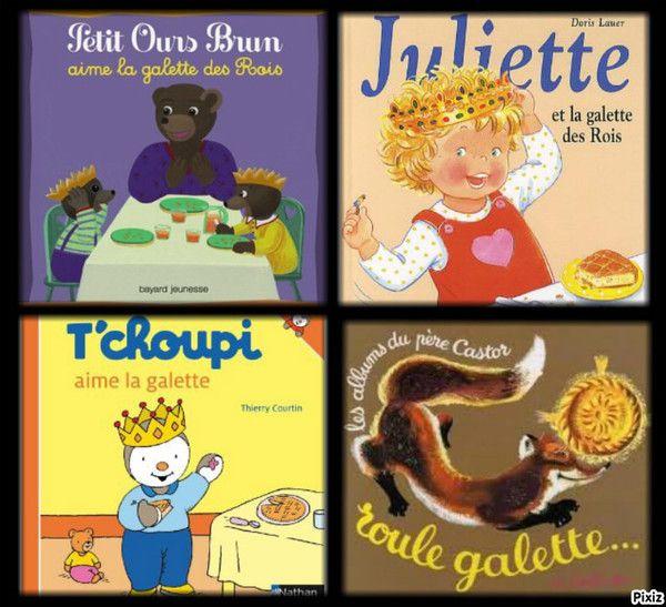 livre pour enfant sur le thême de la galette