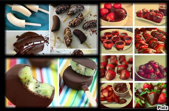 Idee repas pour les enfants page 4 - Sucette au chocolat ...