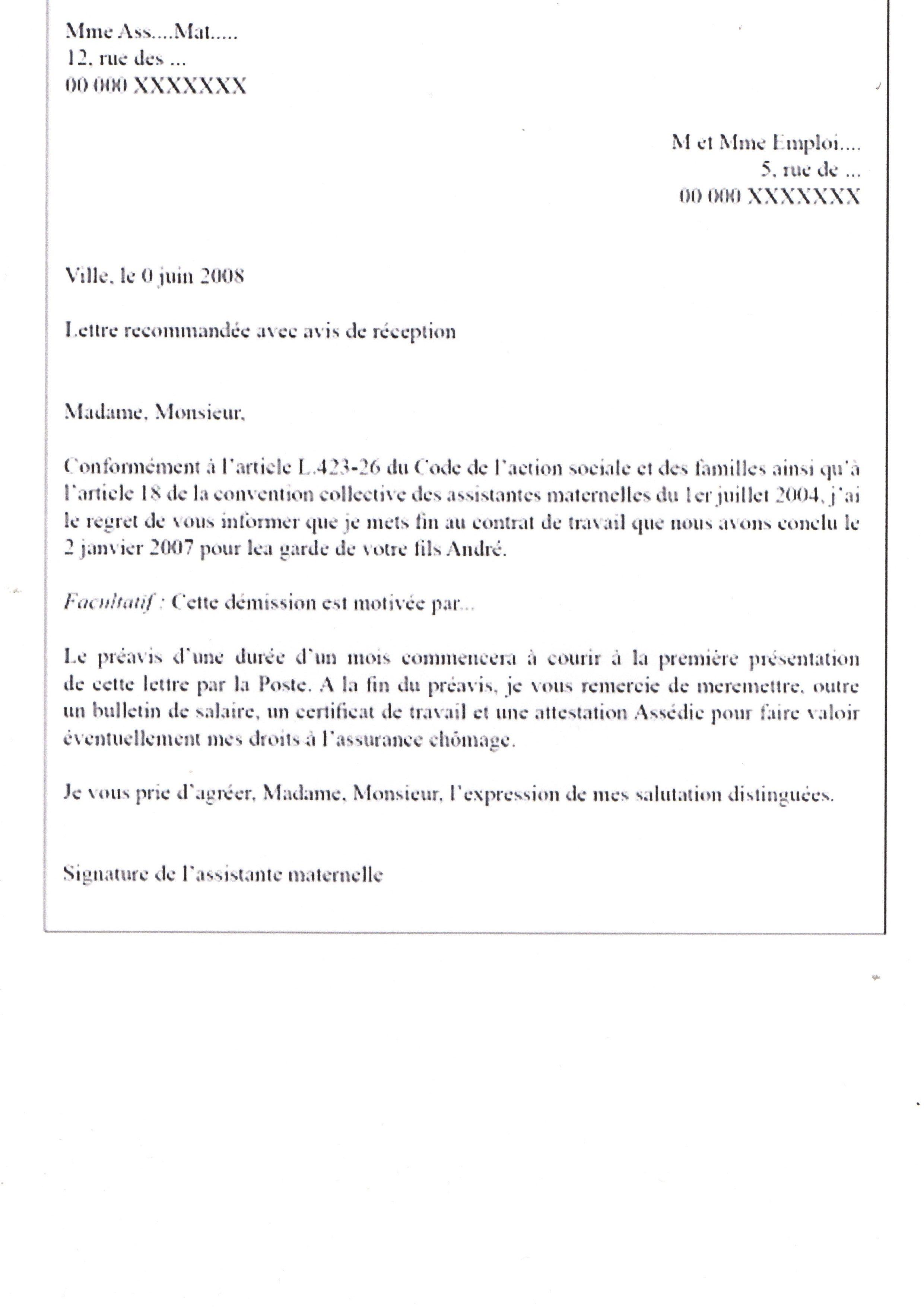 2 5 Documents Fin De Contrat
