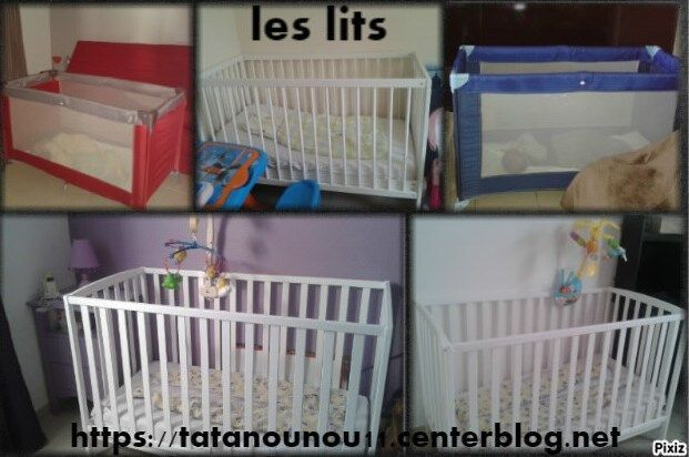 les lits chez tatanounou. Black Bedroom Furniture Sets. Home Design Ideas